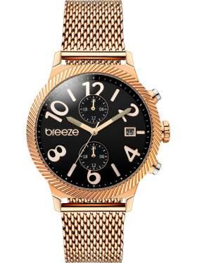 BREEZE Bellatrix Multifunction Rose Gold Stainless Steel Bracelet 210681.2