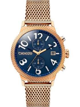 BREEZE Bellatrix Multifunction Rose Gold Stainless Steel Bracelet 210681.3