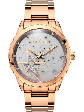BREEZE Starstruk Crystals Rose Gold Stainless Steel Bracelet-210791.7