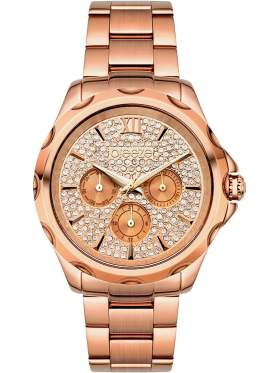 BREEZE Belle Ray Crystals Multifunction Rose Gold Stainless Steel Bracelet 210901.4