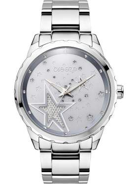 BREEZE Starstruk Crystals Silver Stainless Steel Bracelet-610791.2