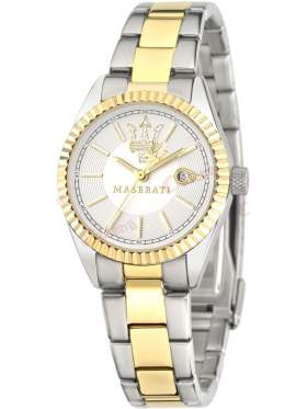 MASERATI Competizione Ladies Two Tone Stainless Steel   R8853100505