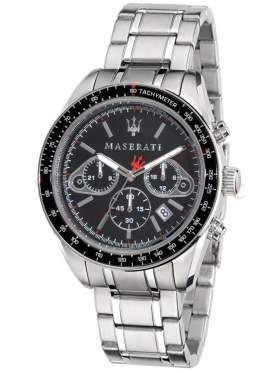 MASERATI Plancia Chronograph Stainless Steel Bracelet R8873602001