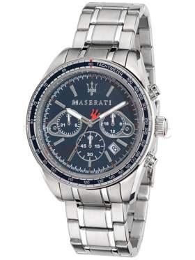 MASERATI Plancia Chronograph Stainless Steel Bracelet  R8873602002