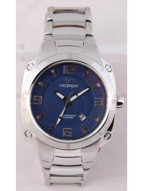 VICEROY Blue Dial Stainless Steel Bracelet 432035-35