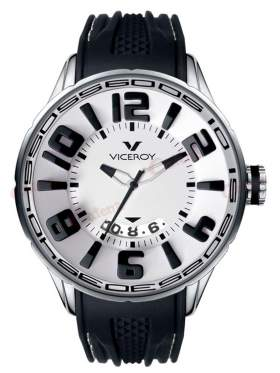 VICEROY Flash Black Rubber Strap 432111-05