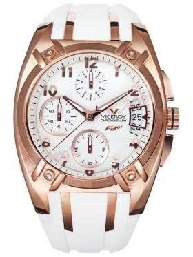 VICEROY-47514-95 ρολόι χειρός γυναικείο με ροζ χρυσό