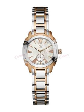 GUESS Collection Two-Tone Stainless Steel Bracelet Ladies  A55003L1