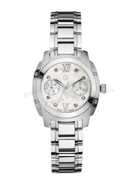 Guess Collection Stainless Steel Calendar Diamond Ladies A58101L1