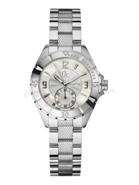 GUESS Collection Stainless Steel White Mother of Pearls A70000L1