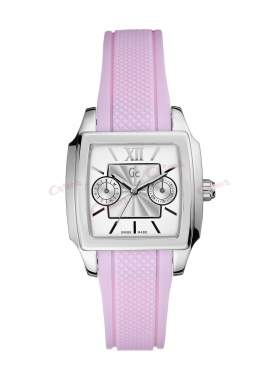 GUESS Collection Pink Rubber Strap I15509L1