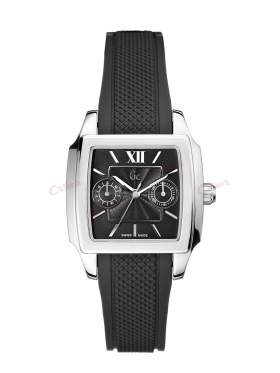 GUESS Collection Black Rubber Strap I15509L2