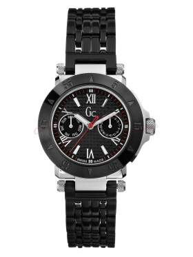 GUESS Collection Black Stainless Steel Calendar I43002L1