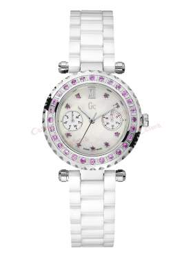GUESS Collection White Ceramic Bracelet Callendar  I92000L1
