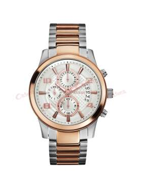 GUESS Men's Exec Chronograph Watch W0075G2