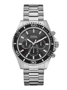 GUESS Sports Chronograph Stainless Steel Bracelet W0170G1