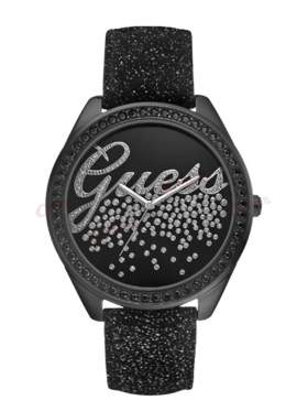 GUESS Party Girl Black Leather Strap W80070L1