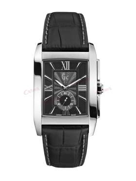 GUESS Collection Black Leather Strap X64005G2