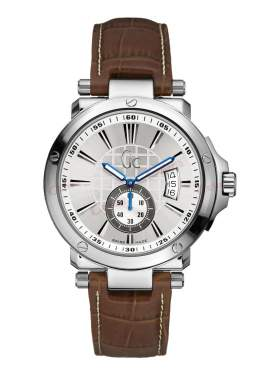 GUESS Collection Βrown Leather Strap X65006G1S