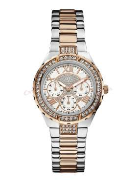 GUESS Ladies' Sport Multifunction Two-Tone Bracelet Watch W0111L4