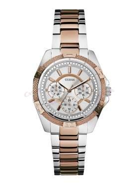 GUESS Ladies' Sport Two Tone Multifunction Bracelet Watch W0235L4
