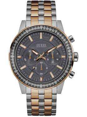 GUESS W0801G2 Ανδρικό Ρολόι Quartz Χρονογράφος Ακριβείας