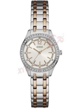 GUESS W0830L1 Γυναικείο Ρολόι Quartz Ακριβείας