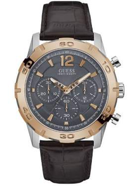 GUESS W0864G1 Ανδρικό Ρολόι Quartz Χρονογράφος Ακριβείας