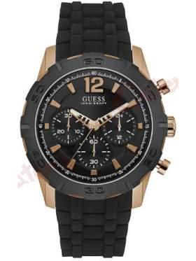 GUESS W0864G2 Ανδρικό Ρολόι Quartz Χρονογράφος Ακριβείας