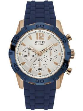 GUESS W0864G5 Ανδρικό Ρολόι Quartz Χρονογράφος Ακριβείας
