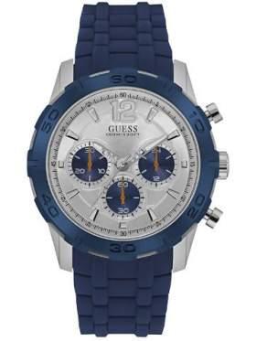 GUESS W0864G6 Ανδρικό Ρολόι Quartz Χρονογράφος Ακριβείας