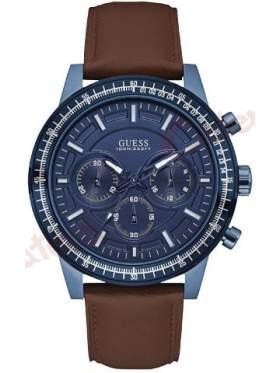 GUESS W0867G2 Ανδρικό Ρολόι Quartz Χρονογράφος Ακριβείας
