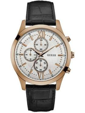 GUESS W0876G2 Ανδρικό Ρολόι Quartz Χρονογράφος Ακριβείας