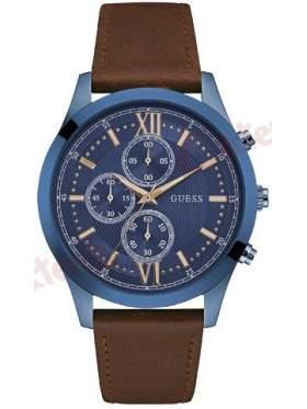 GUESS W0876G3 Ανδρικό Ρολόι Quartz Χρονογράφος Ακριβείας
