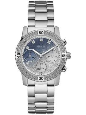 Guess W0774L6 Γυναικείο Ρολόι Quartz Χρονογράφος Ακριβείας