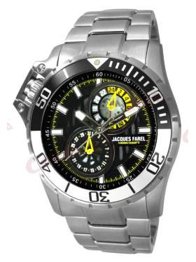 JACQUES FAREL Multifunction Stainless Steel Bracelet