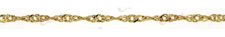 Αλυσίδα λαιμού χρυσή 1,5gr