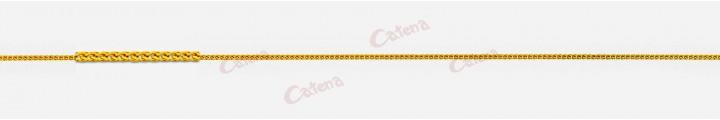 Αλυσίδα λαιμού χρυσή 1,40gr