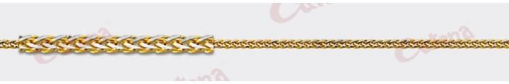 Αλυσίδα λαιμού χρυσή 1,50gr