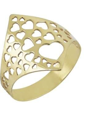 Δακτυλίδι χρυσό καράτια 14 χωρίς πέτρες σε ελεύθερο σχέδιο