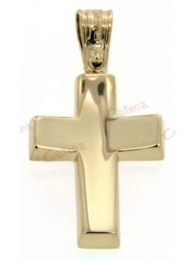 Σταυρός αντρικός σε κίτρινο χρυσό