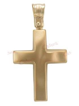 Σταυρός αντρικός χρυσός
